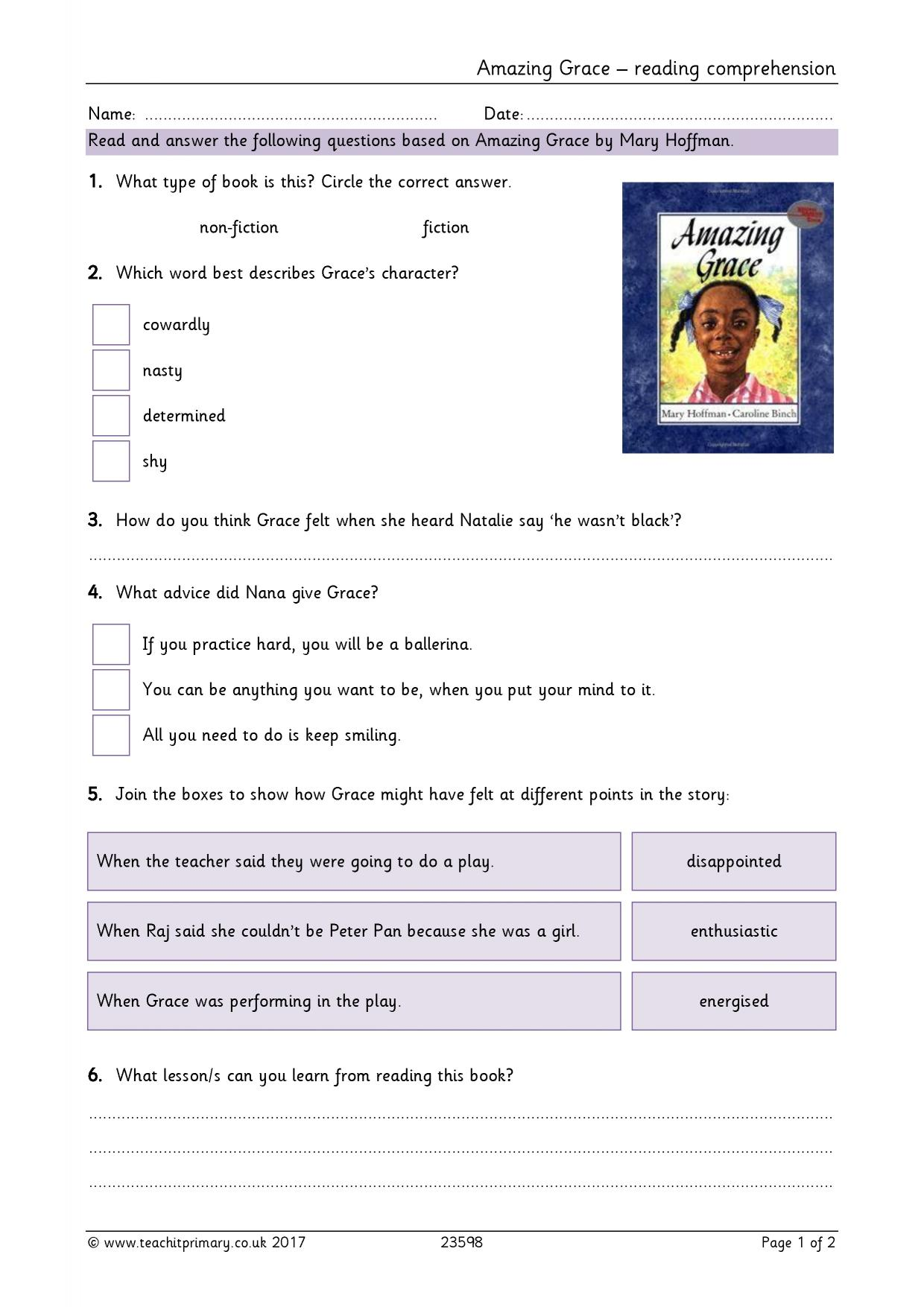 - Reading Comprehension Teaching Resources For FS, KS1 And KS2