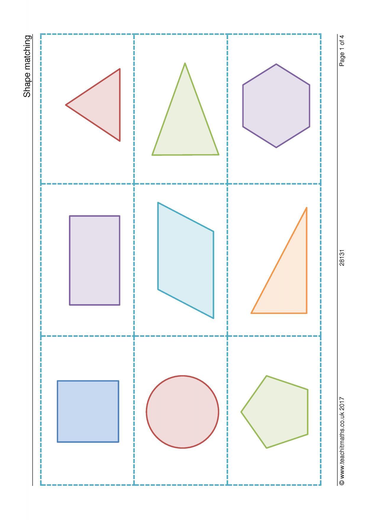 worksheet Identifying Quadrilaterals 2d shapes identifying triangles and special quadrilaterals 0 preview