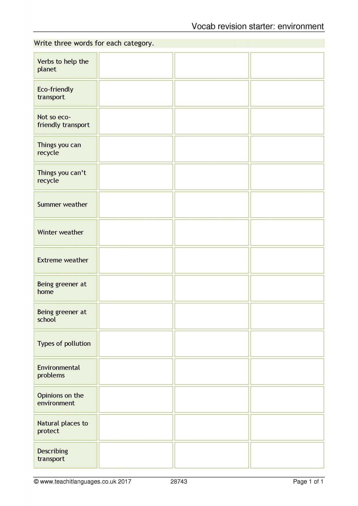 Spanish Language Teaching Resources Teachit Languages