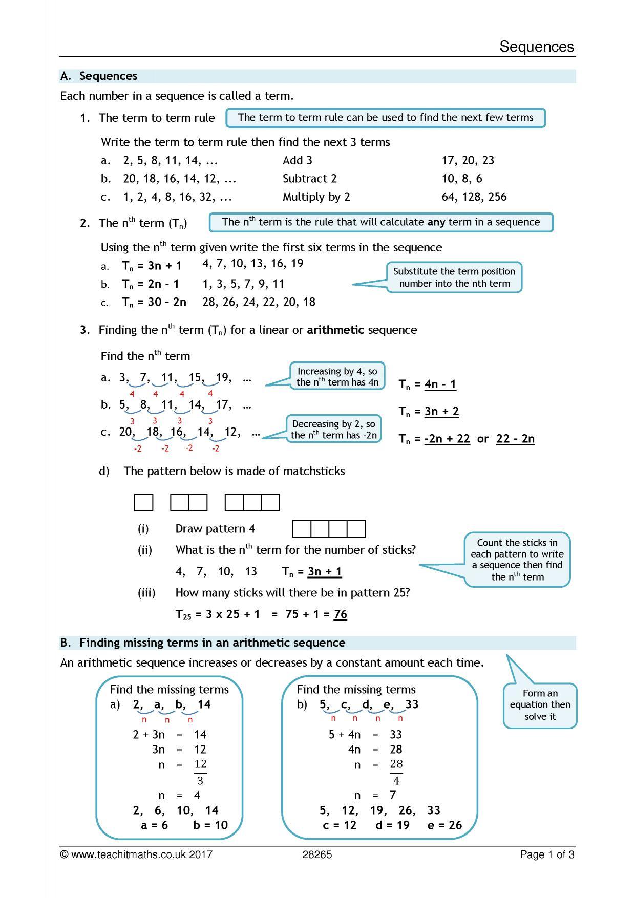 search results - Teachit Maths