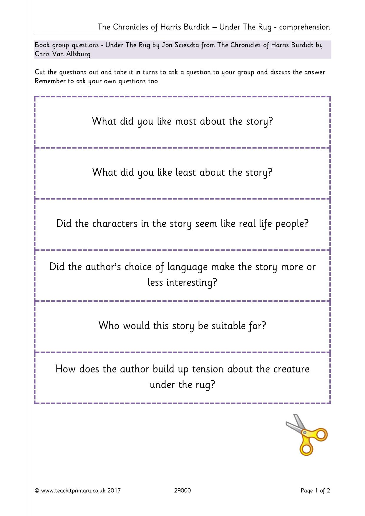 Ks2 English Resources Teachit Primary Inference And