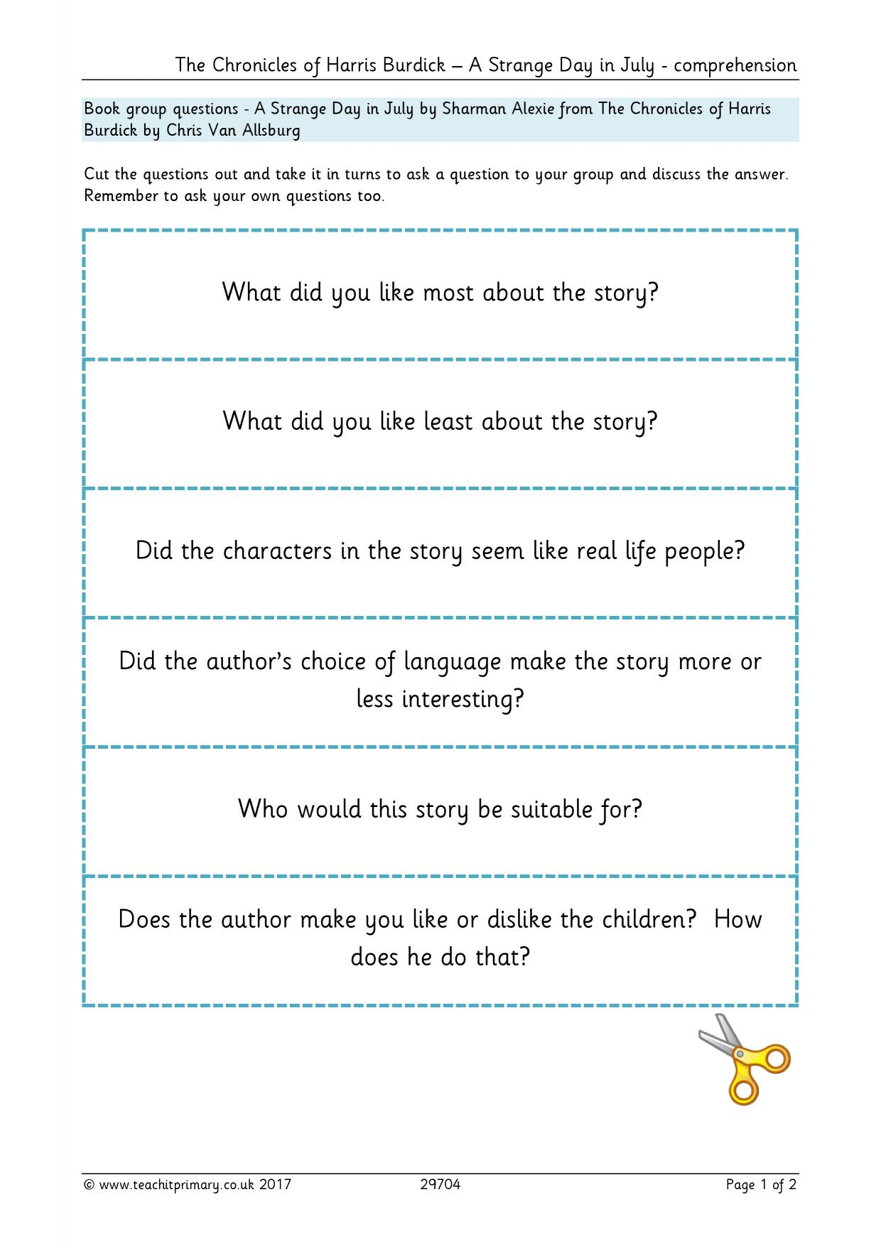 - KS2 Reading Comprehension Resources - Teachit Primary
