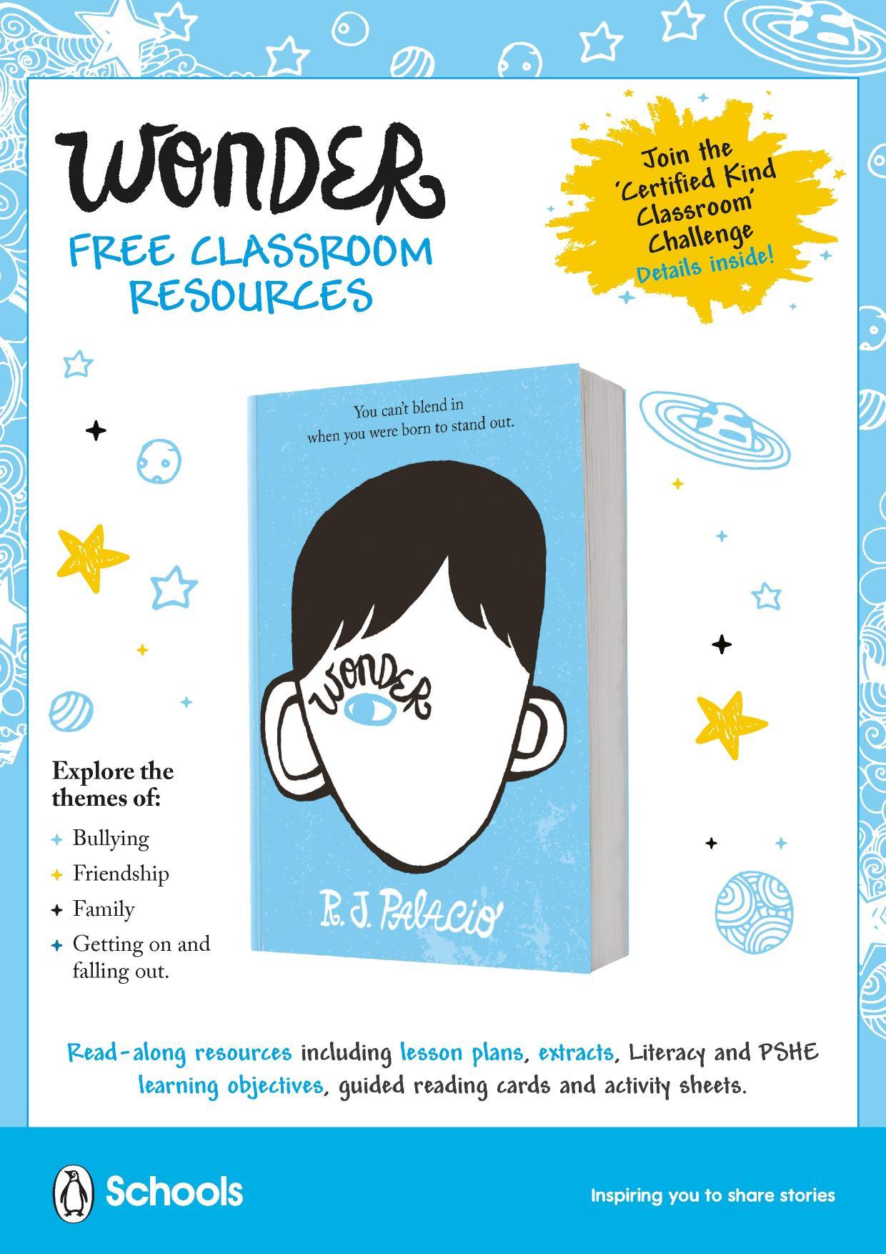 Wonder – Penguin Schools resource collection