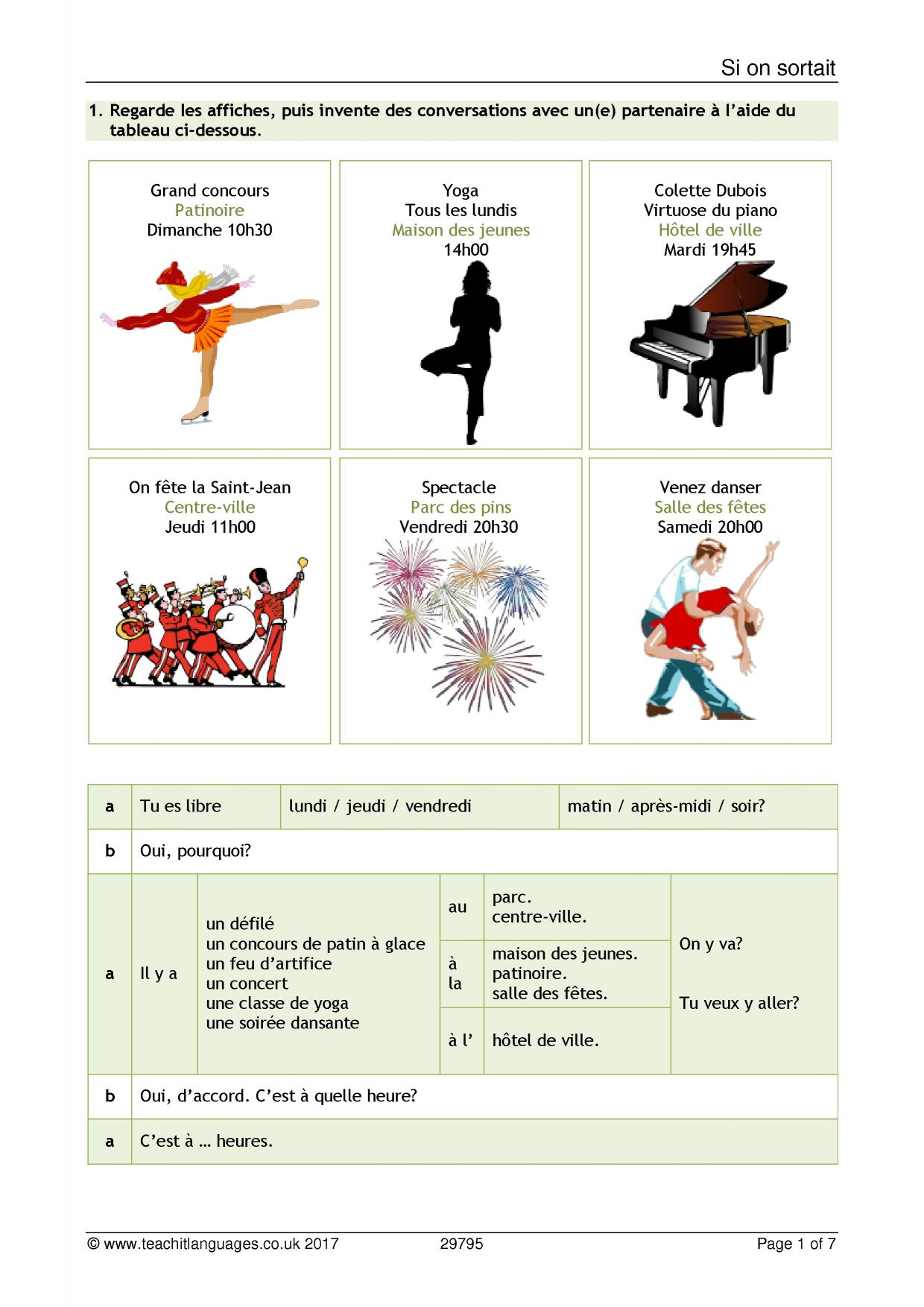 french language teaching resources teachit languages