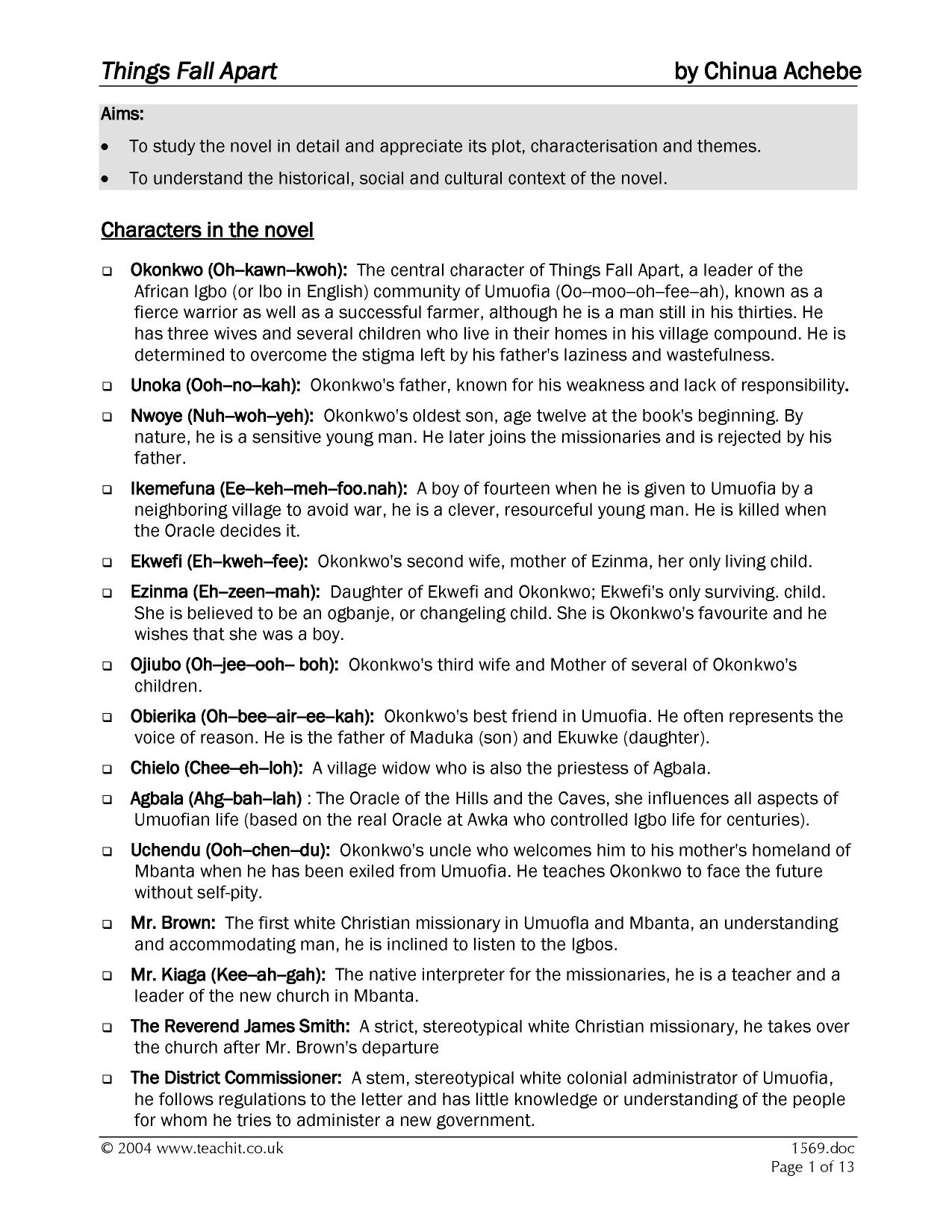 acdemic resume essay american scenery example of acknowledgement essay on things fall apart by chinua achebe report web things fall apart essay topics