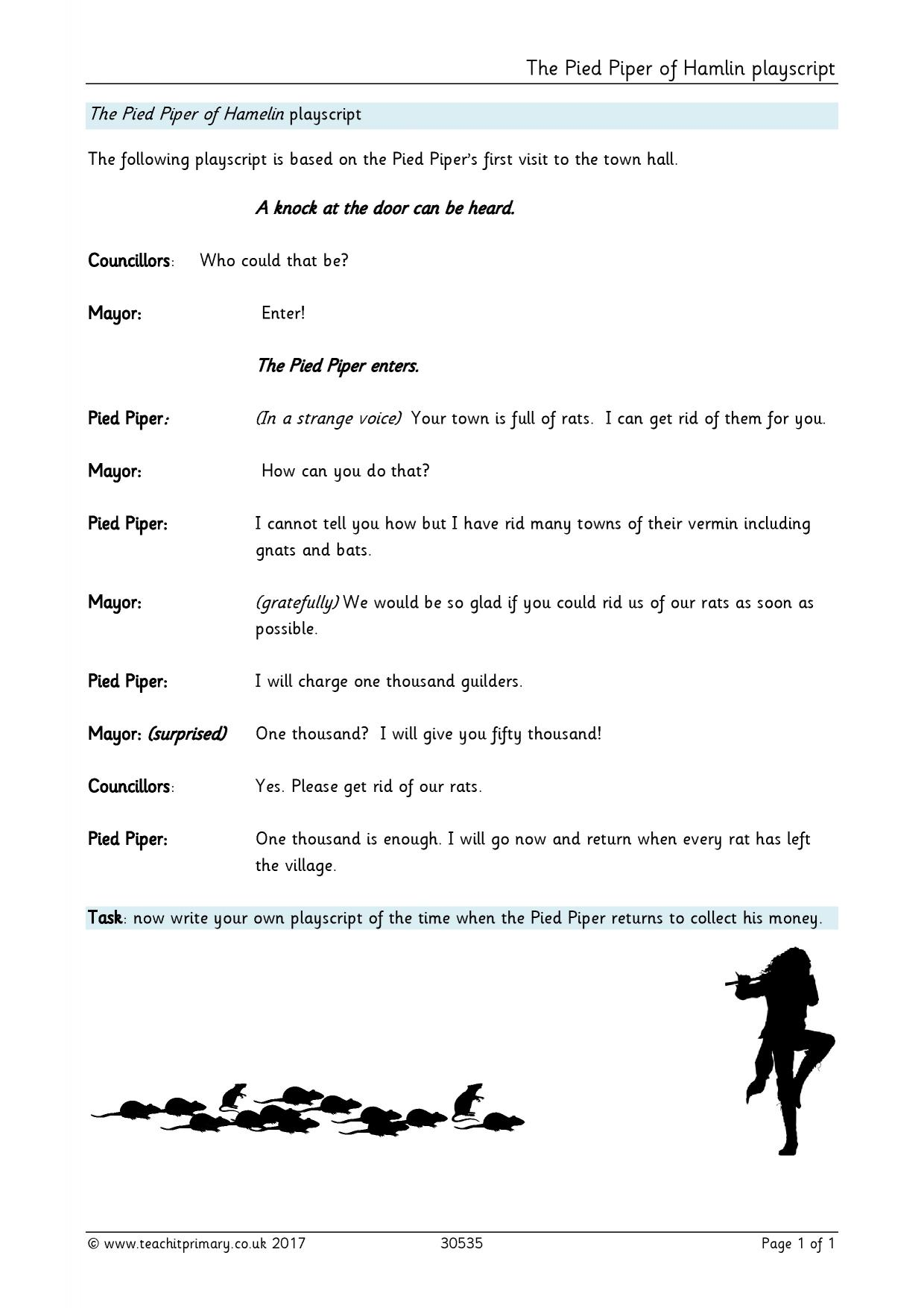 Writing a play script ks2 geography