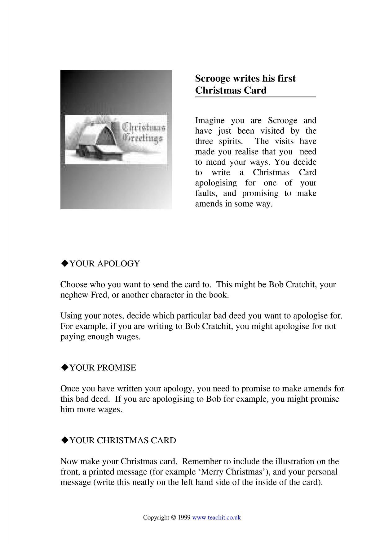 Christmas teaching resources | Teachit English KS3-KS5 - Teachit English
