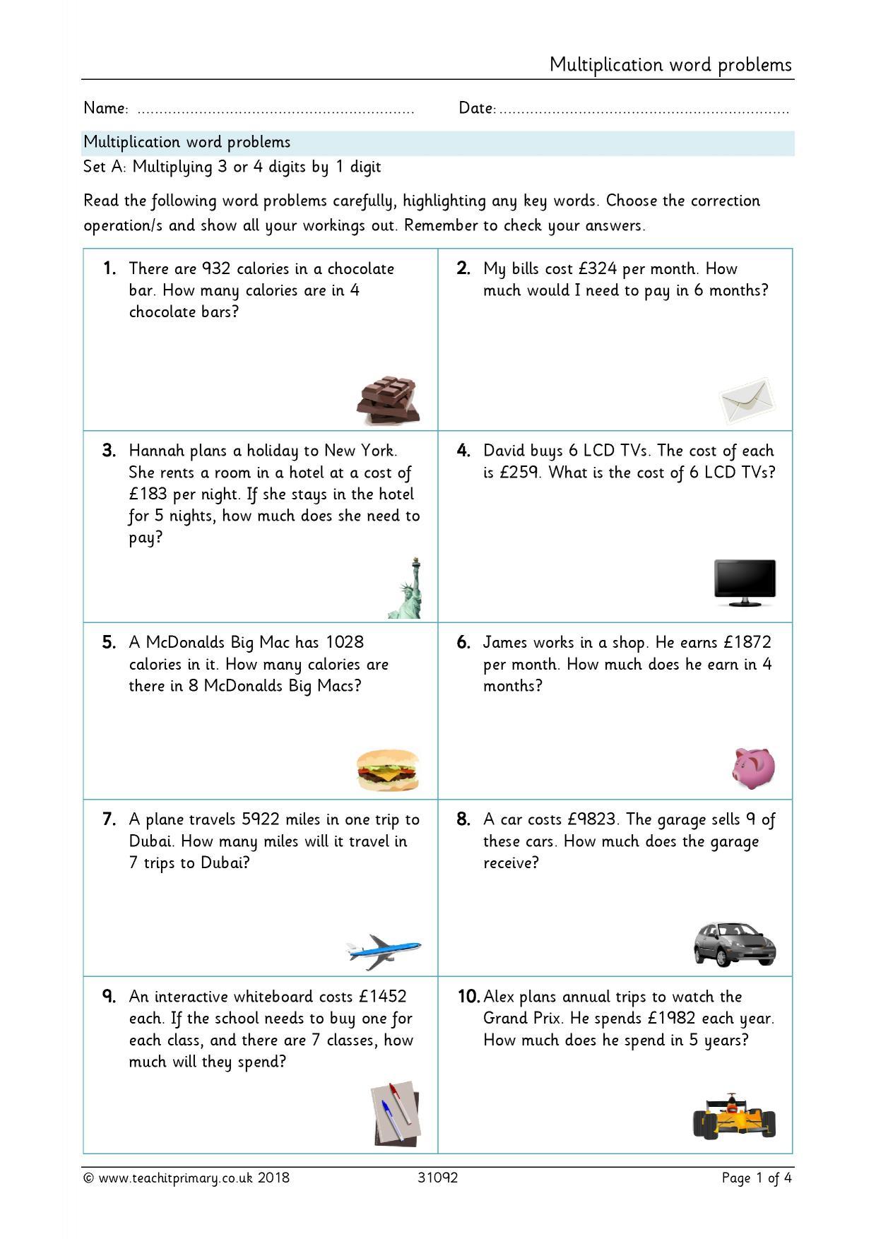 ks2 challenging multiplication and division teachit primary. Black Bedroom Furniture Sets. Home Design Ideas