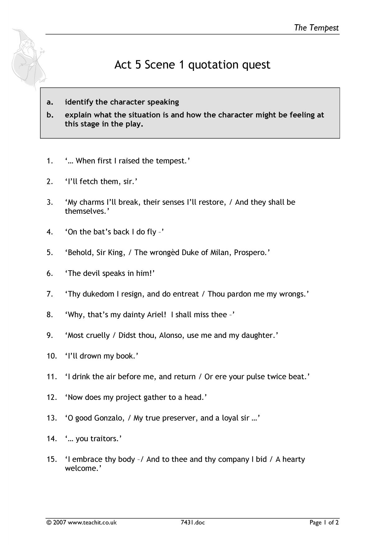 the tempest questions and answers pdf