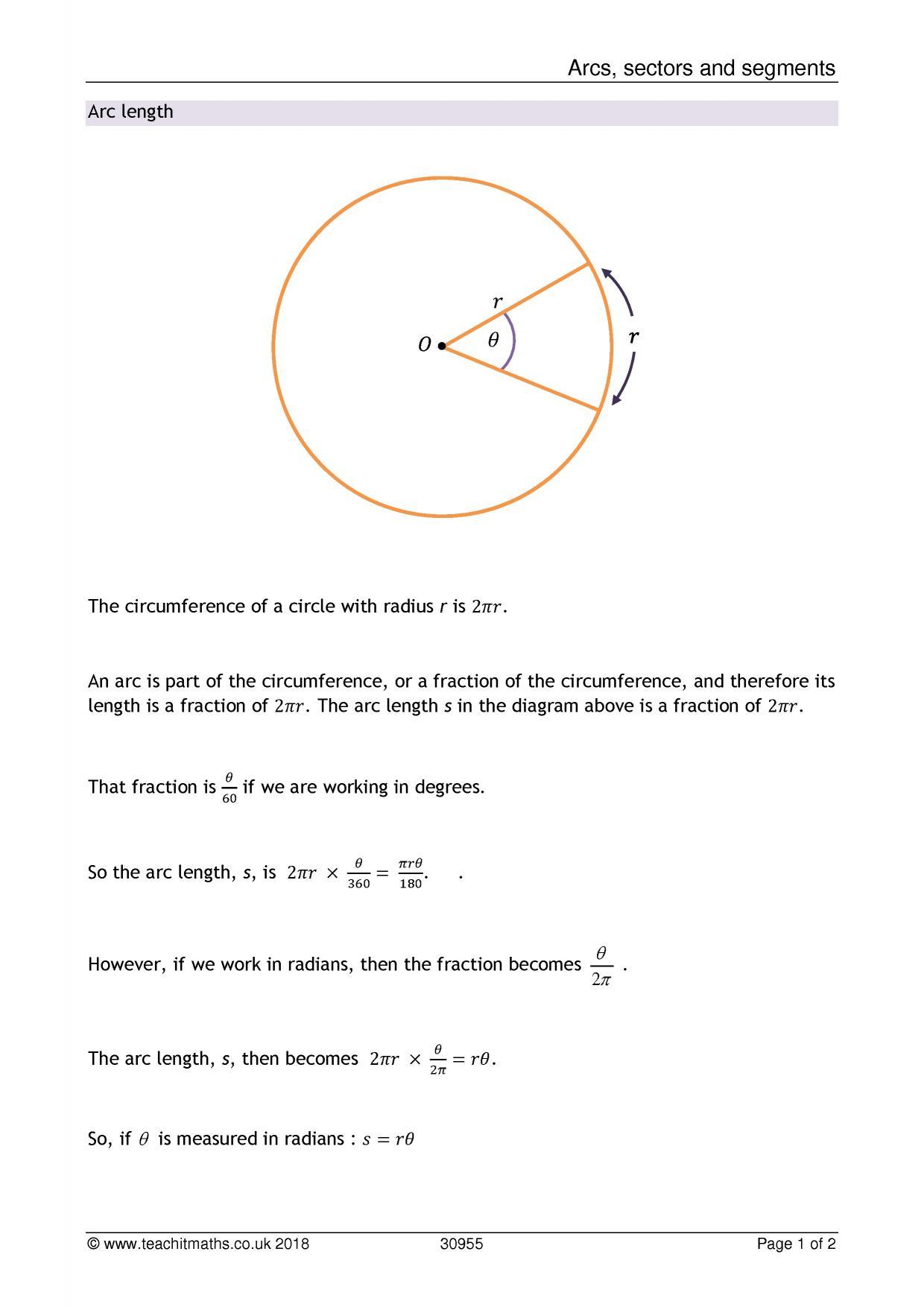 Circles Teachit Maths