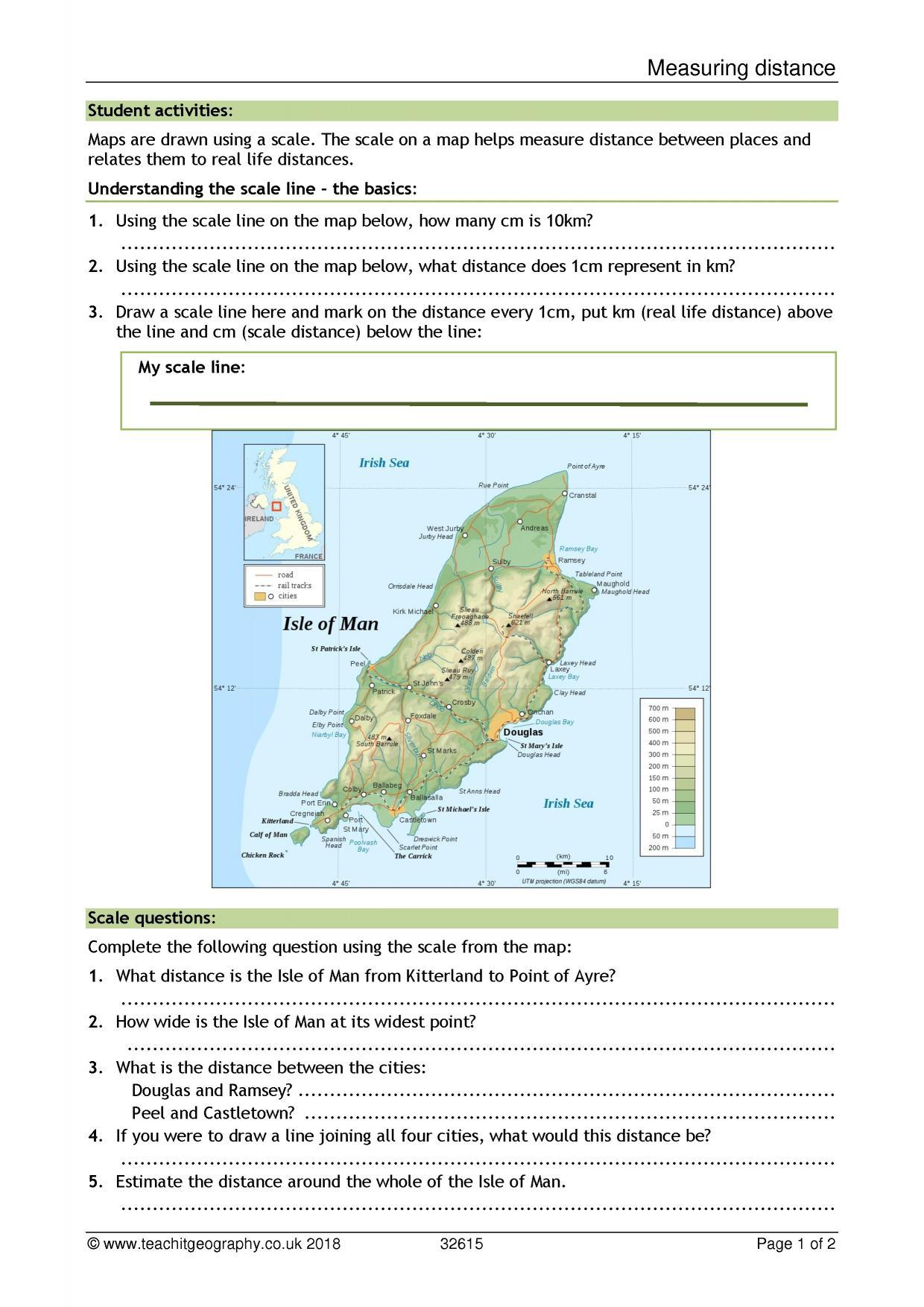 KS3 | Map skills | Teachit Geography
