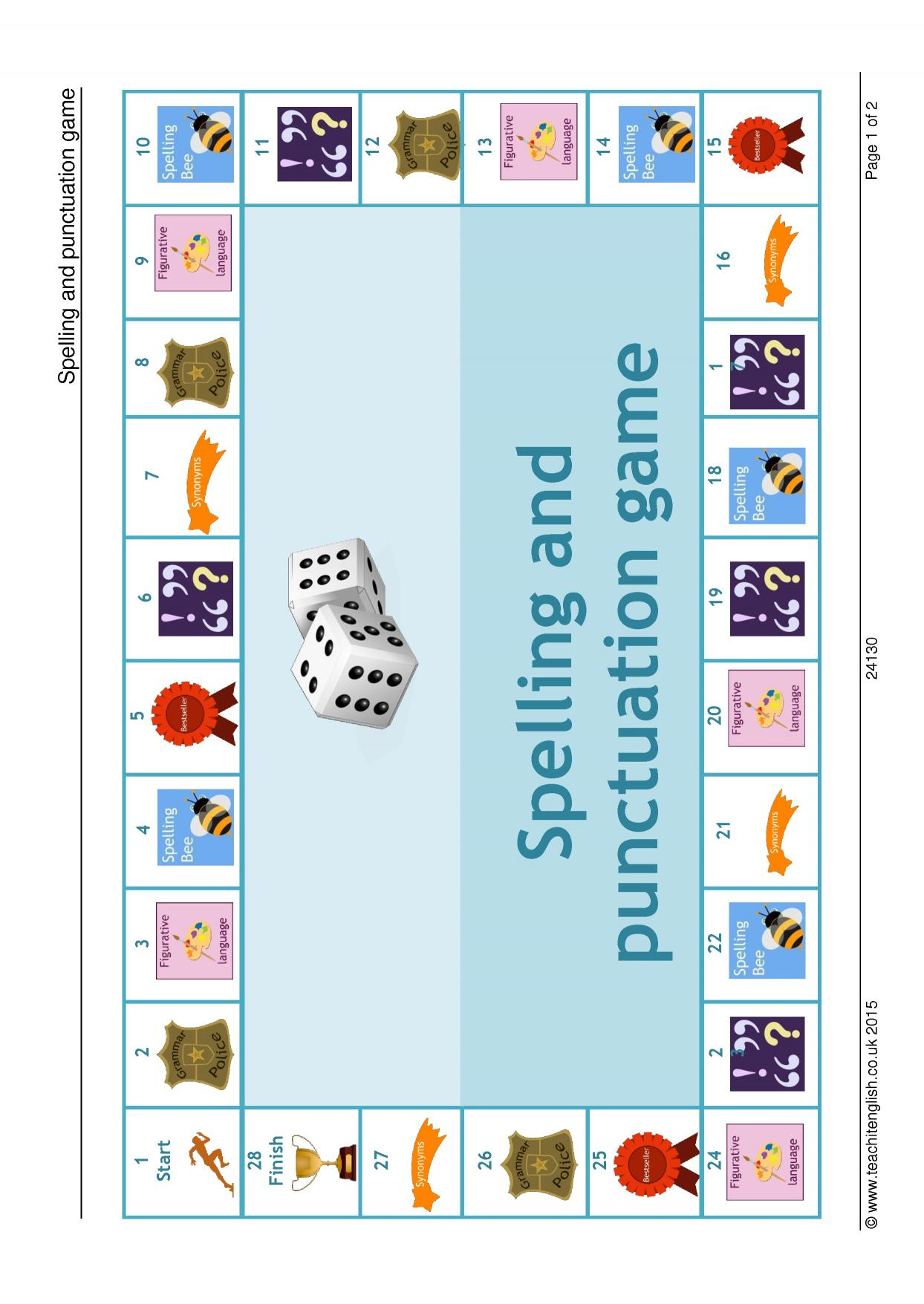 KS3 Grammar and vocabulary | Word games | Teachit English