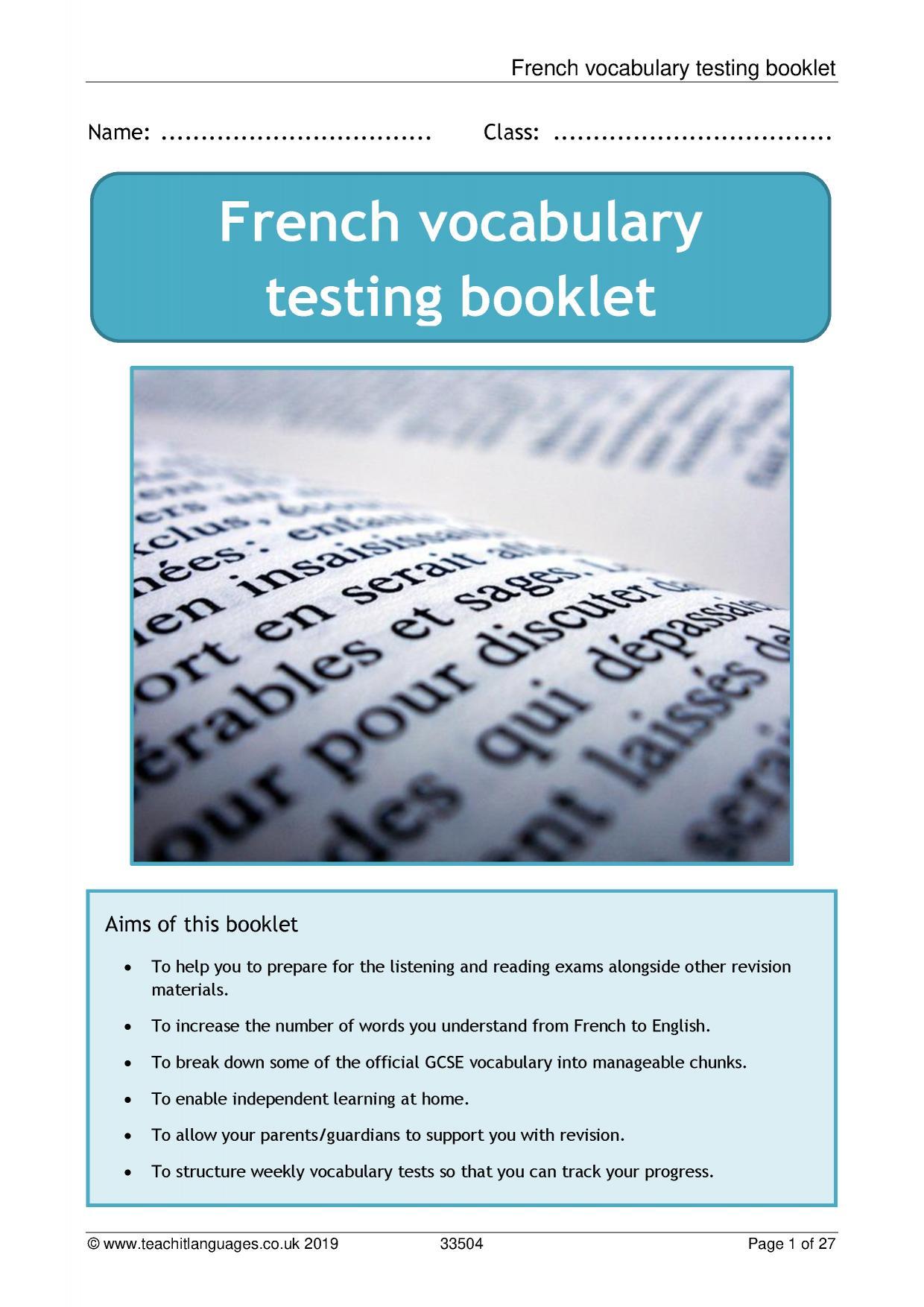 French language teaching resources   TeachIt Languages - Teachit