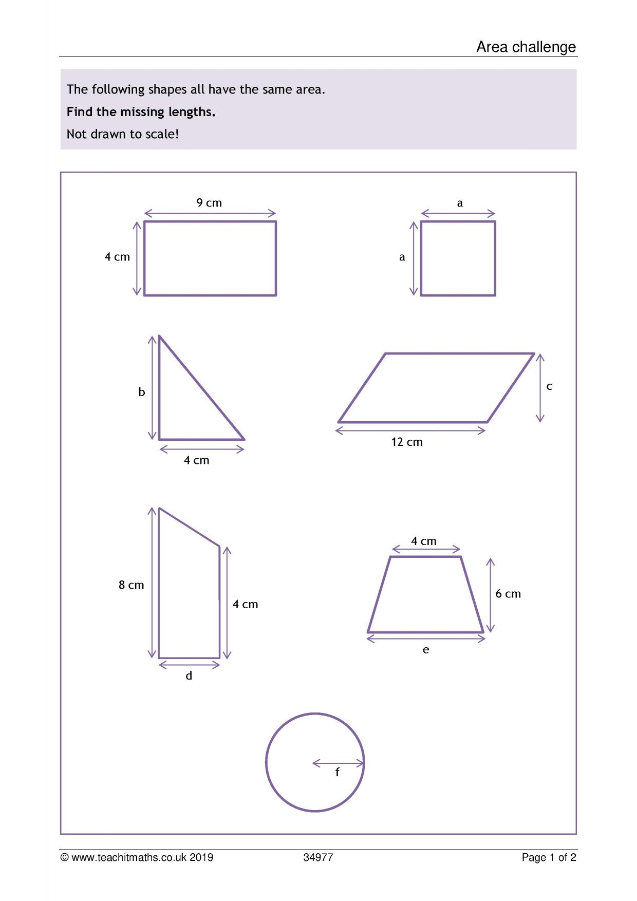 Latest resources - Teachit Maths