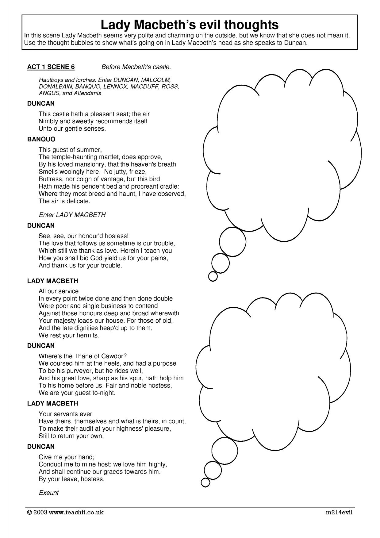 the dramatic changes in act 1 scene 5 of macbeth essay Macbeth - character changes, free study guides and book notes including comprehensive chapter analysis, complete summary analysis, author biography information, character profiles, theme analysis, metaphor analysis, and top ten quotes on classic literature.
