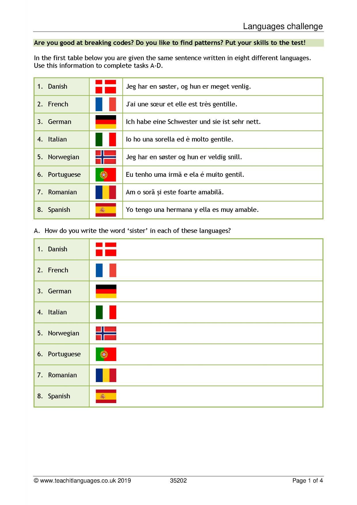 French language teaching resources | TeachIt Languages - Teachit Languages