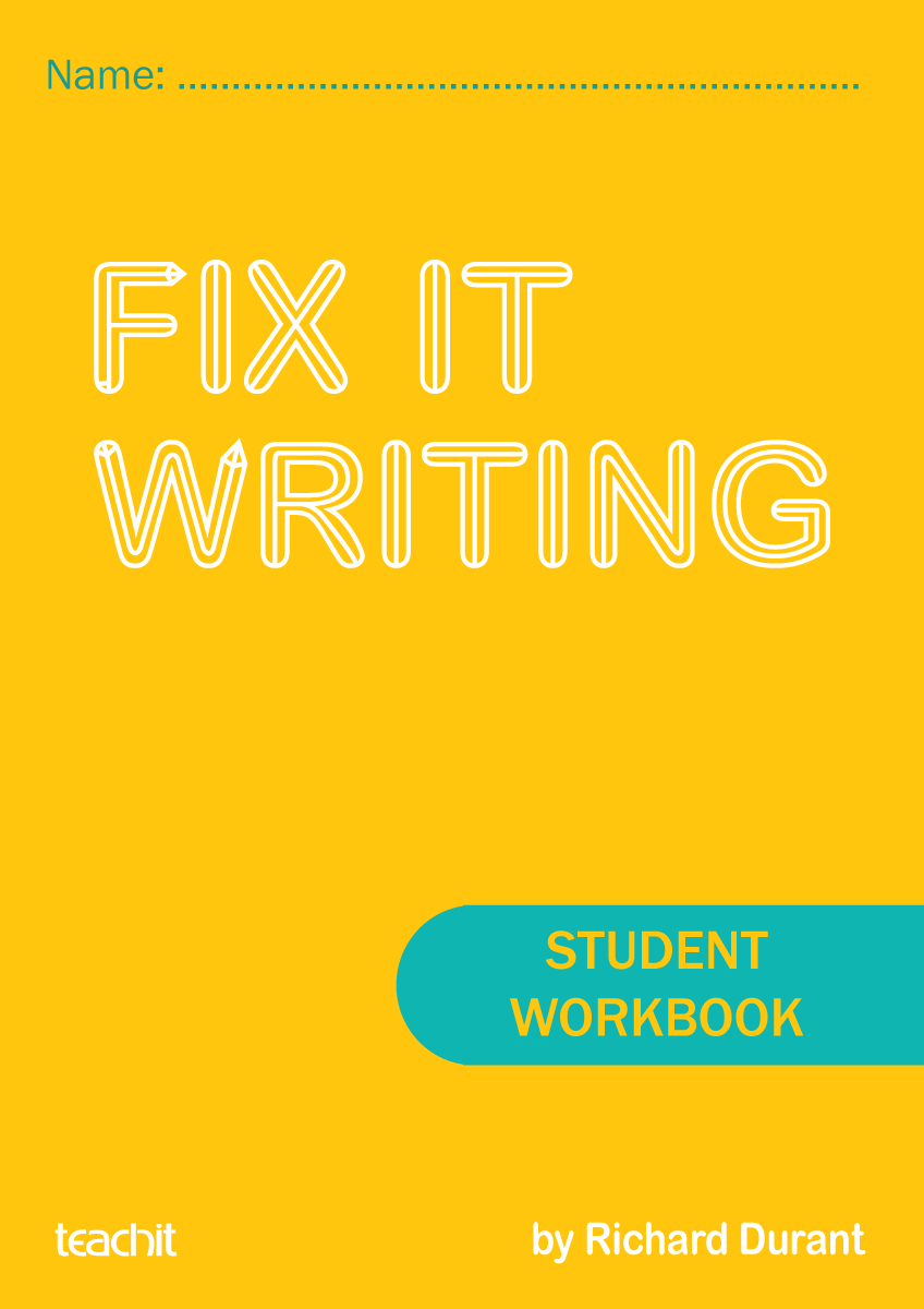 Fix it writing - a downloadable teacher handbook