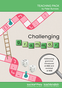 Challenging grammar teaching pack