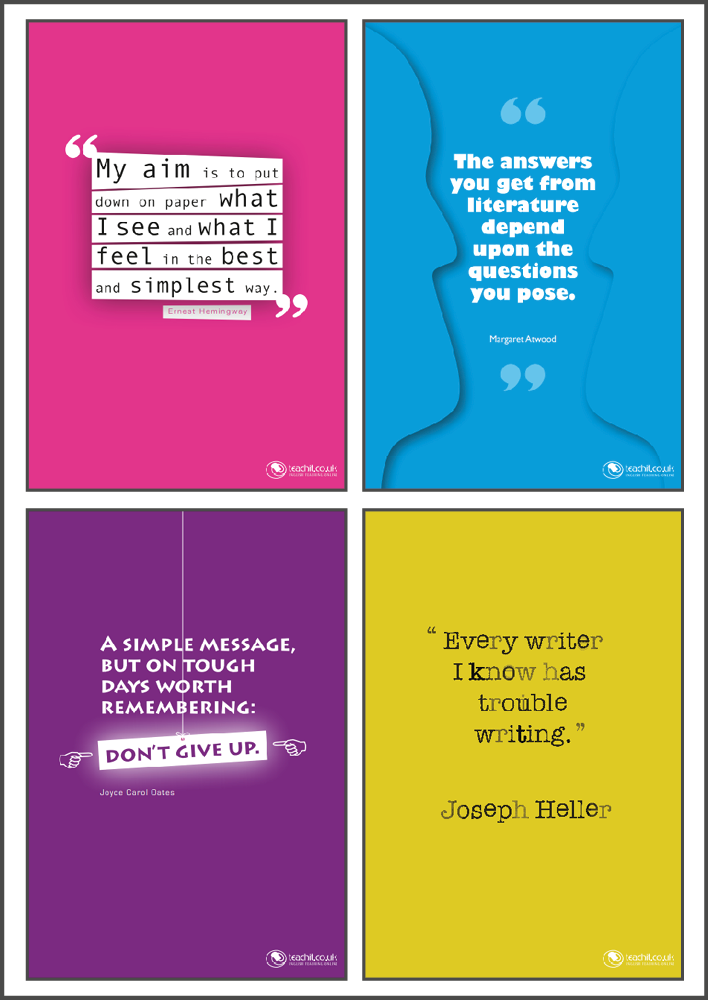 Quotation posters