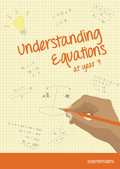 Understanding equations at year 7