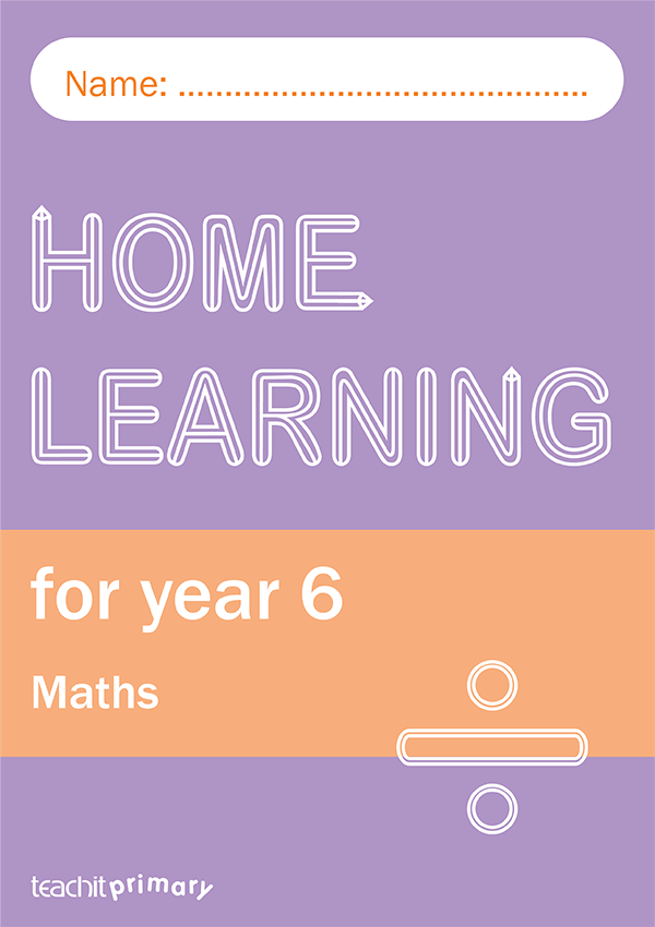 Home learning for year 6 – maths