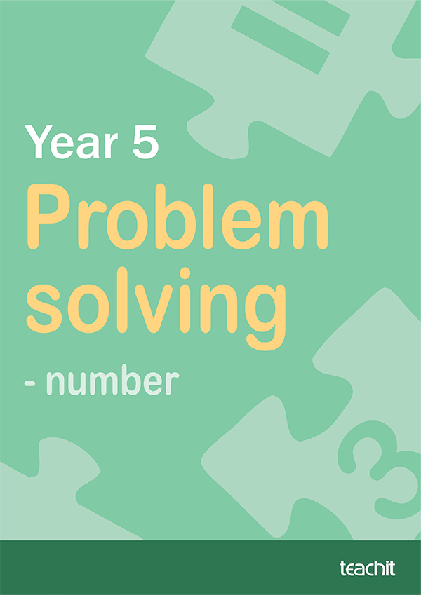 Year 5 Problem solving – number