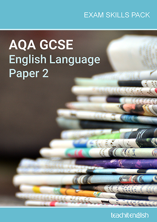 AQA GCSE English Language Paper 2 exam skills pack