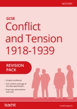 Conflict and Tension 1918-1939 revision workbook
